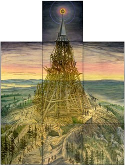 """The Tower of Babel"" by Peter Seward"