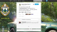 The Vermont State Police Are Following You — on Twitter