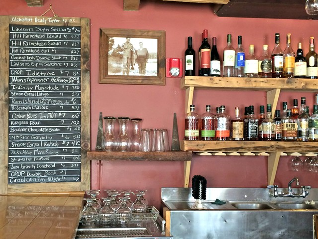 Three Hill Farmstead and two Lawson's Finest Liquids brews not enough for you? Blackback's got 17 more taps. - ALICE LEVITT