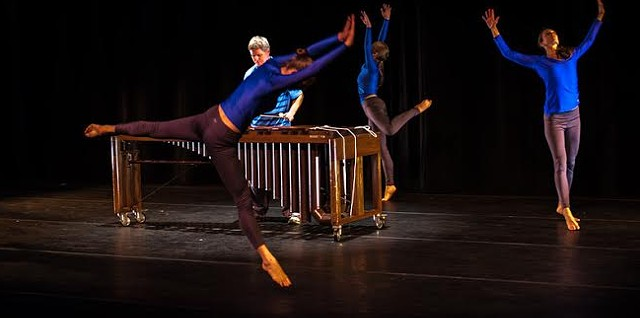 """""""Tract"""" choreographed by Paul Besaw - COURTESY OF JEFF HERWOOD"""