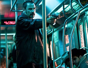 TRAIN IN VAIN John Travolta is the number one reason to shun public transit in this lackluster remade thriller.