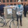 Transit Groups Unveil Secure Bike Lockers in Winooski, Burlington