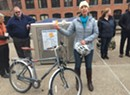 Transit Groups Unveil Secure Bike Lockers in Winooski, Burlington