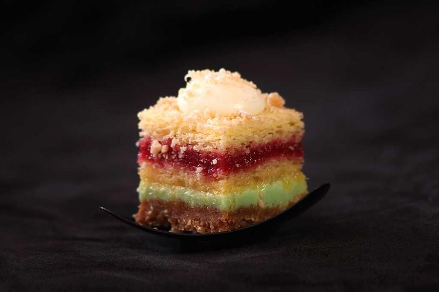 Tropical Napoleon, Chef's Corner - MATTHEW THORSEN