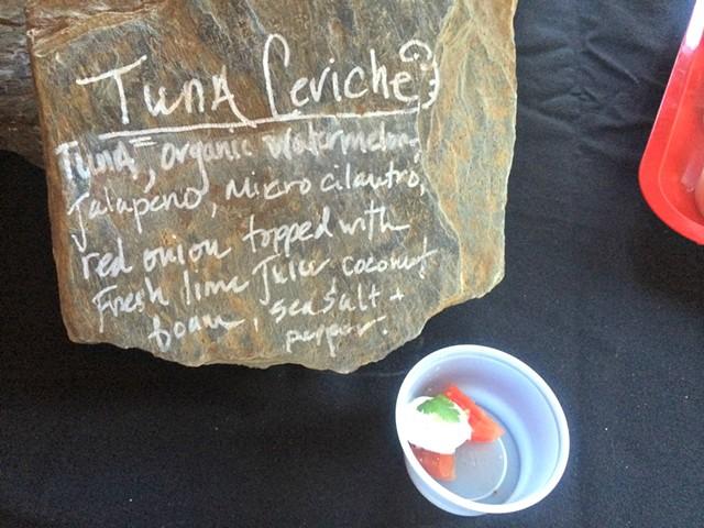 Tuna ceviche from Himitsu Sushi