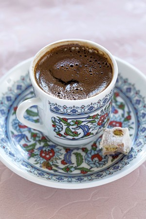 Turkish coffee - OLIVER PARINI
