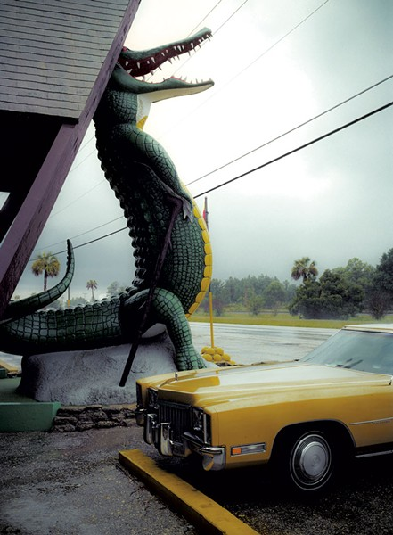 GATORLAND ON U.S. 1 NORTH OF ST. AUGUSTINE, FLA., BY NATHAN BENN