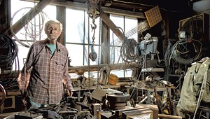 Renowned Vermont Sculptor Chuck Ginnever Thinks Big