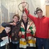 Abenakis Gather for Traditional Snow Snake Game in West Barnet