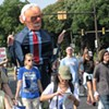 Hot for Bernie: Sanders Supporters March in Sweltering Philly
