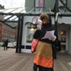 Don't Panic: In Advance of Trump Inauguration, Burlington Activists Perform Hysteria