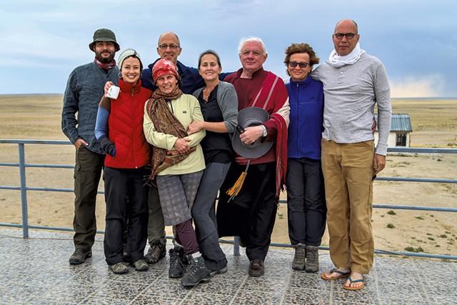 Left to right: Jon Schechner, Tamin Totzke, Clemma Dawsen, Marc Wennberg, - Sarah Brutzman, Glenn Mullin, Magdalena Naylor, Ronen Schechner - JON SCHECHNER