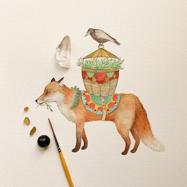 Illustration by Jess Polanshek - COURTESY OF JESS POLANSHEK