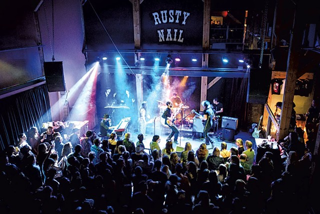 Rusty Nail Stage - COURTESY OF BRIAN JENKINS