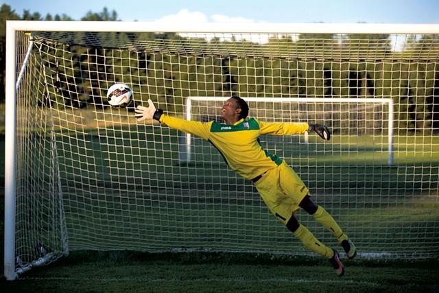 Juba Star goalie Mukhtar Abdullahi - JAMES BUCK