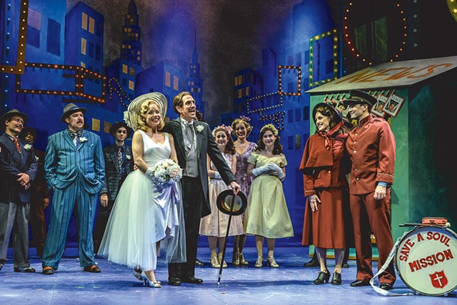 The cast of Guys and Dolls - COURTESY OF HUBERT  SCHRIEBL