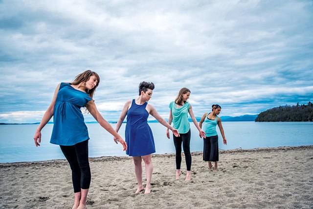 Bryce Dance Company at North Beach on Lake Champlain - COURTESY OF TODD STOILOV