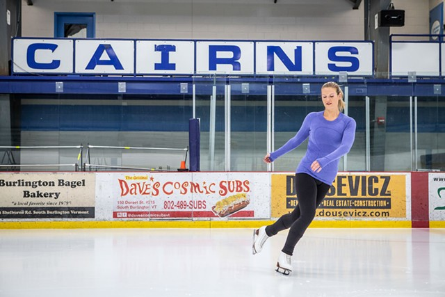 C. Douglas Cairns Recreation Arena - LUKE AWTRY