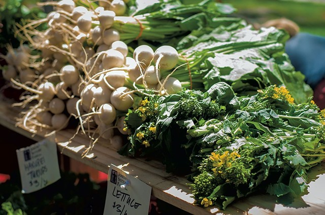 Burlington Farmers Market - HANNAH PALMER EGAN