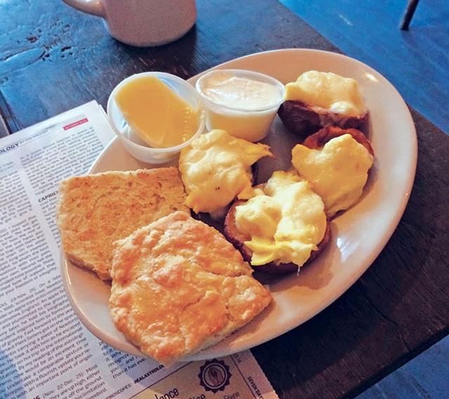 The Skeggs at Nunyun's Bakery & Café - FILE: JOHN JAMES