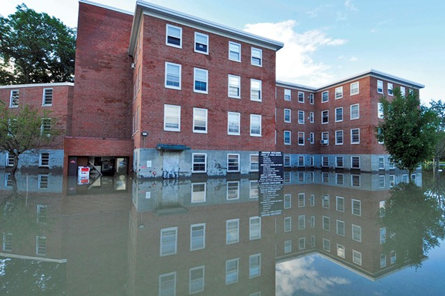 The State Office Complex after Irene - JEB WALLACE-BRODEUR