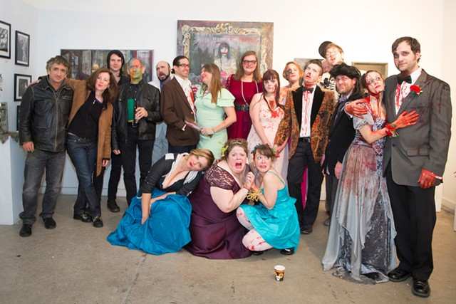 The Green Mountain Gore Society's OkGOREberfest Horror Prom, held on October 10 - JAMES BUCK