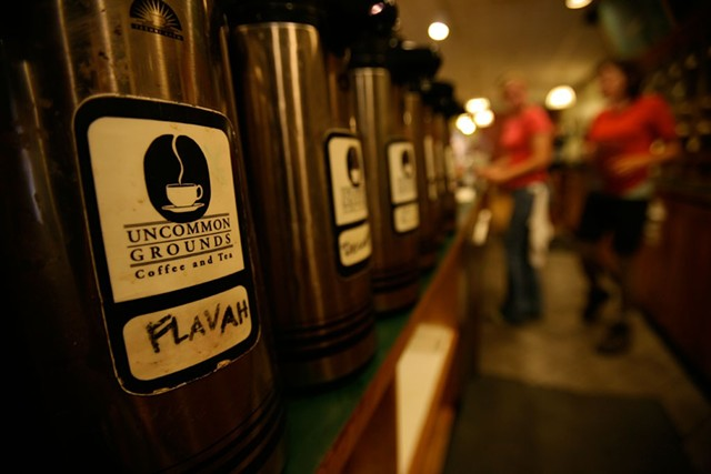 Uncommon Grounds Coffee and Tea - JORDAN SILVERMAN