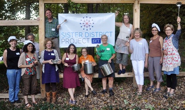 Members of the southern Vermont Sister District chapter - COURTESY PEG ALDEN