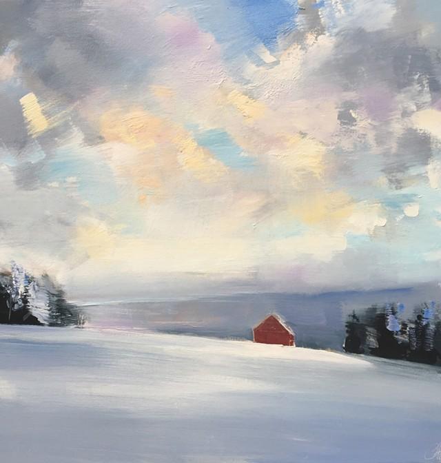 """Winter Squall"" - COURTESY OF CRAIG MOONEY"