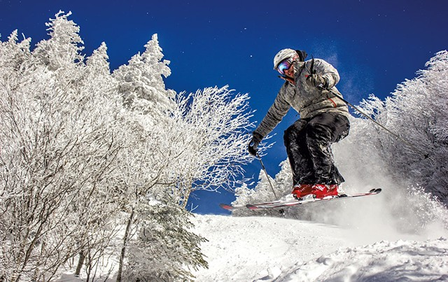 Skiing at Bolton Valley - COURTESY OF CUYLER CUNNINGHAM