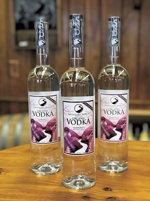 Smugglers' Notch Distillery's Gluten Free Organic Vodka - COURTESY OF SMUGGLERS' NOTCH DISTILLERY