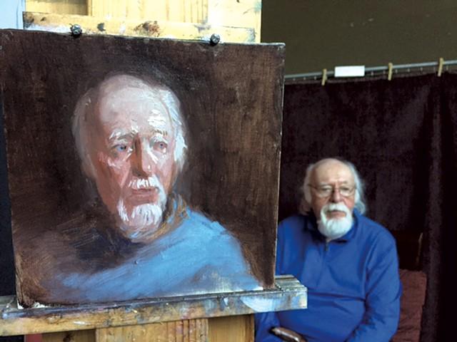 Portrait of Frank Watson by Karen Winslow