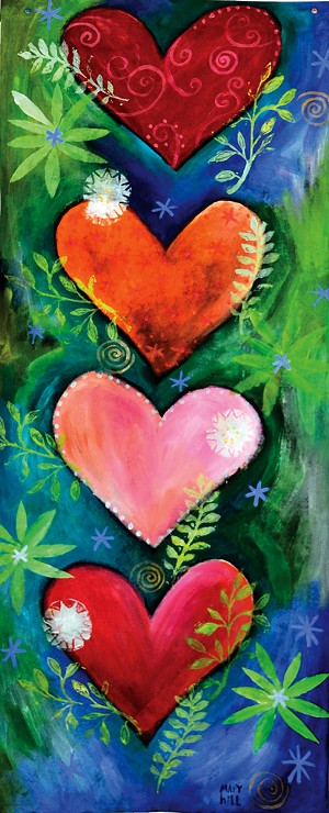 """Mary Hill, """"Love All Around"""""""