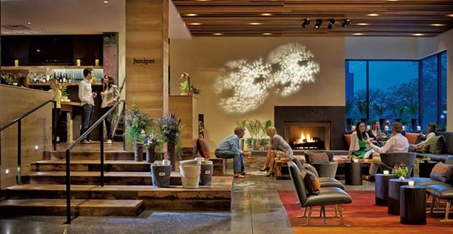 Hotel Vermont lobby - COURTESY OF HOTEL VERMONT