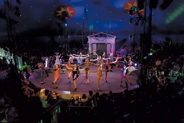 Circus Smirkus - COURTESY OF ROBERT SANSON