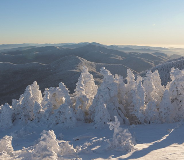 Southern view from the summit of Mount Mansfield - NATHANAEL ASARO