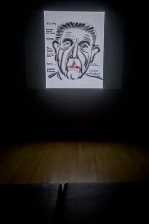Self-portrait by Leonard Cohen - PHOTOS COURTESY OF SEBASTIEN ROY / MACM