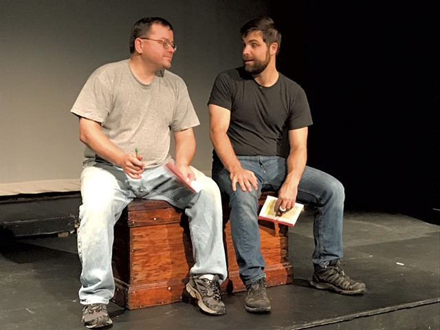 Erik Gaetz (left) and Will Moore - COURTESY OF MIKE BACKMAN