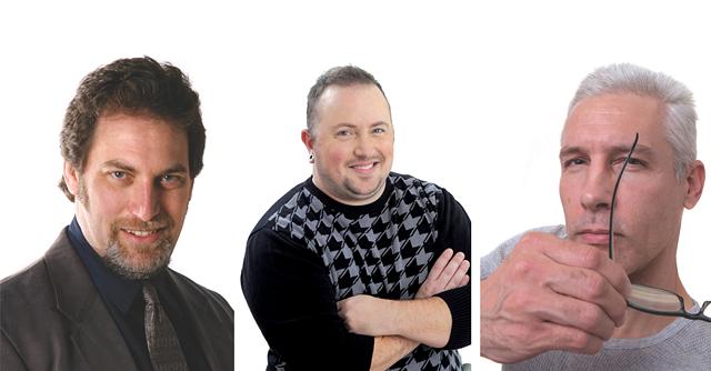 Left to right: Ken Picard, James Buck, Matthew Thorsen - JORDAN SILVERMAN (FAR LEFT); MATTHEW THORSEN