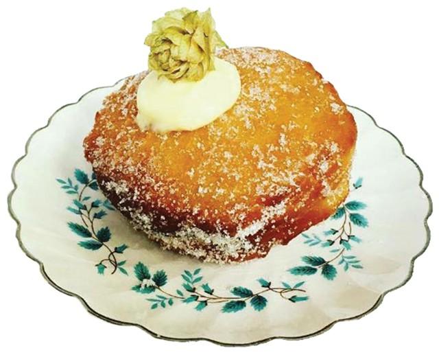 A Miss Weinerz doughnut - COURTESY OF MISS WEINERZ