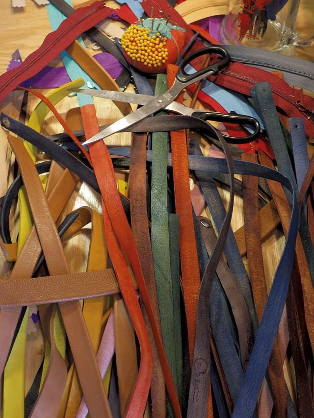 Colorful leather bits - MATTHEW THORSEN