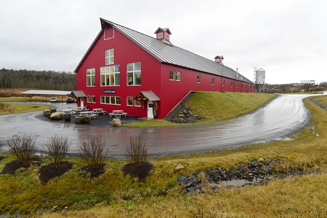 The new Vermont Artisan Coffee & Tea headquarters; - JEB WALLACE-BRODEUR