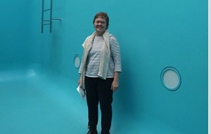 Catherine Brooks (at the 21st Century Museum of Contemporary Art in Kanazawa, Japan) - COURTESY OF CATHERINE BROOKS
