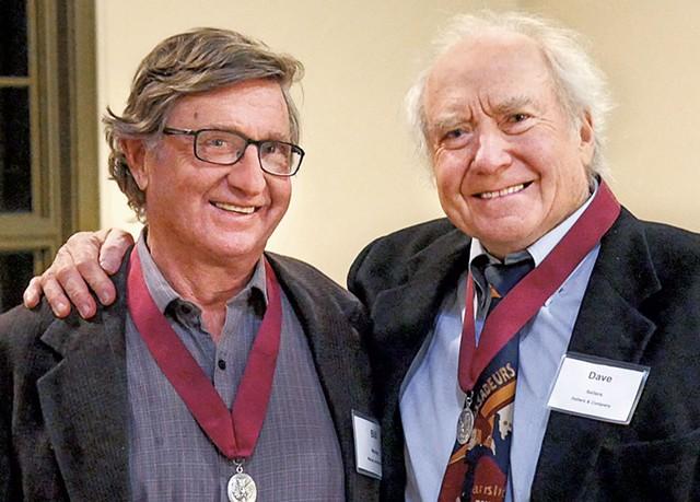 Bill Maclay (left) and David Sellers - PHOTO: CAROLYN BATES