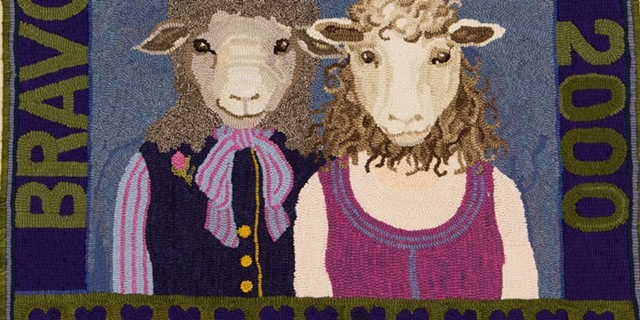 Patty Yoder, H is for Hannah & Sarah, A Civil Union, 2000. - COURTESY OF SHELBURNE MUSEUM