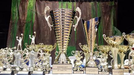 Tournament trophies - KYMELYA SARI