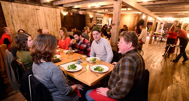 Hemp + Hops Dinner at Zenbarn - JEB WALLACE-BRODEUR