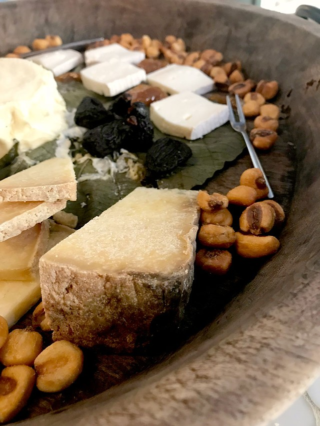 The Italian cheese board - SUZANNE M. PODHAIZER