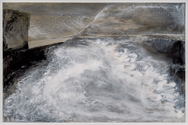 """Revnisfjara Beach II"" by Elizabeth Nelson"