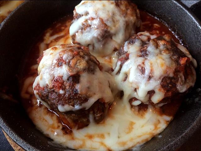 Meatballs at One Radish - SUZANNE M. PODHAIZER
